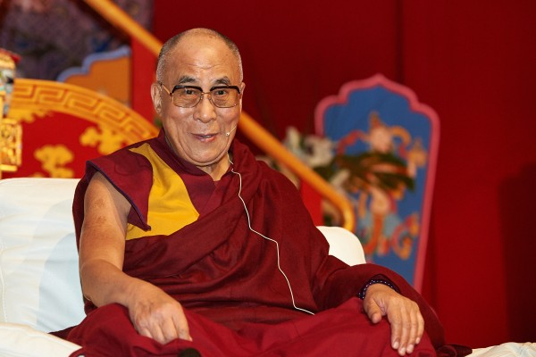 Sua Santità il XIV Dalai Lama – Photographer: Olivier Adam, who kindly gave his permission for their use by FPMT centers, projects and services.